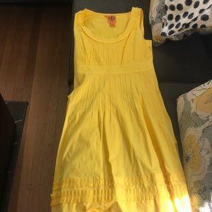 Tory Burch Sunshine Yellow summer dress